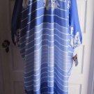 Vintage NOS 1983 Granada Visa Fabric Dacron Polyester Dress Muu Muu Womens OS