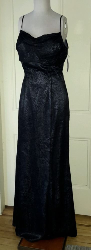 NOS Alyce Backless Beaded Formal Pageant Prom Floor Length Maxi Long dress 14