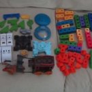 Lrg Lot Fisher Price Trio Stagecoach Toy Story Star Wars R2D2 Building Toy Sets