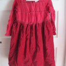 Girls 6 2002 Gymboree 100% Silk Velvet Ribbon Tulle Flounce Party Holiday Dress