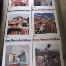 Fine Homebuilding Back Issues Magazines Lot of 6 Entire Year 1992 DIY Remodeling
