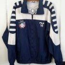 Fila Italia Lazio-F.C. P.A.C.L. Lowell Windbreaker Soccer Track Jacket 16 Mens M