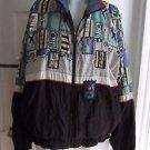 Vintage Le Coq Sportiff 90s Lined Track Windbreaker Jacket Mens Large Hip Hop