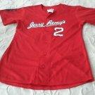 Jerry Remy's Remdawg #2 Jersey Sports Bar & Grill Restaurant Uniform sz S 34-36