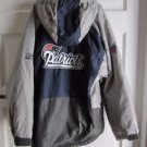 NFL New England Patriots Reebok Youth Kids Boys Winter Jacket Parka M 10 12 Gray