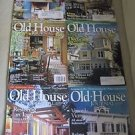 Old House Journal Back Issues Magazines Lot of 6 Entire Year 2008 DIY Remodeling