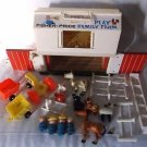 Fisher Price Little People #915 Farm Barn Play Set Wood Accessories 1967 VINTAGE