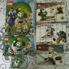 Legos Sports Soccer Hockey Sets # 3408 3411 3401 3544 Instructions Manuals ONLY