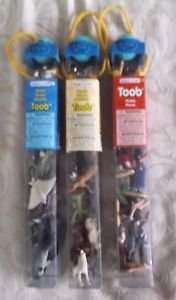 Lot 3 Toob Safari Limited Ltd Pirates Desert Ocean Figurines Sets Ships Whales