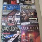 Old House Journal Back Issues Magazines Lot of 6 Entire Year 1994 DIY Remodeling