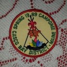 1989 Casco Bay District Spring Camporee Boy Scout Patch Badge Maine ME BSA Cub