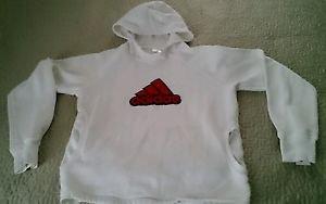 ADIDAS Embroidered pull over Hoodie Women's M Sweatshirt