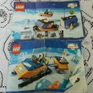 Legos Arctic # 6520/6586 Mobile Outpost/Polarscout Instructions Manual Only!