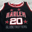 Harlem Globetrotters Platinum FUBU 75th Anniversary Basketball Jersey #20 Haynes