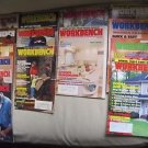 Lot 15 1990s Workbench Magazines Back Issues Woodworking Woodworker Wood Shop