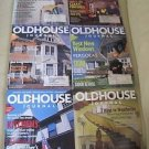 Old House Journal Back Issues Magazines Lot of 6 Entire Year 2000 DIY Remodeling