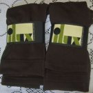 Lot Ilux Sulph Fleece Lined Sweater Leggings 2 Pairs Sable Womens size large