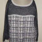 Ann Taylor Loft Alpaca Wool Super Soft Fuzzy Knit Scoop Neck Sweater Womens L