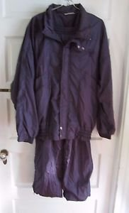 Vintage Pierre Cardin Mens Nylon Jogging 80's 90's Track Suit L XL xlarge Purple
