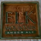 Elk Mountain Amber Ale Distillery Bar Sign Man Cave Wall Plaque Large 3-D design