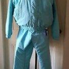Vintage Pro Brand Insulated Ski Snow Suit Pants Jacket Parka Womens/Ladies 12