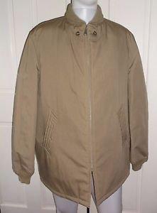 Vintage McGregor Ram Jet Shawl Collar Clicker Car Club Quilted Coat Jacket 44L