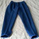 Vintage Retro Ellesse Prodotto Originale Wool Ski Snow Pants Velcro Womens 8 42