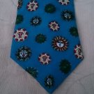 """GERMANY 1885 PFAU Eine Erste Marke Heraldry necktie 4"""" w 58"""" L celestial Sun"""