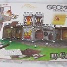 Rare GEOMAG Magnetic World My Castle Construction Game Set (163-Pcs) Swiss Made