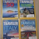 National Geographic Traveler Back Issues Magazines Lot of 4 2009 Collector's