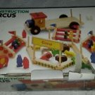 Plan Toys Construction Circus Wooden Set W/Box Truck Animals People Figures