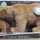 NEW Planet Earth Brown Bear Plush Stuffed Animal W/ Online Interactive Web Code