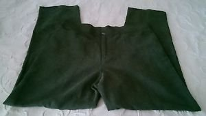 $125 Womens Bets by Canvasbacks suede feel pants slacks sz 16 green Made in USA