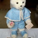 "Tilly Collectibles Jamie #218 Bear Doll 25"" Plush Victorian Dressed Hang Tag Ltd"