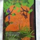 Signed Antonio Rocha Jungle Tales VHS Movie Tape Hard Plastic Case Mime