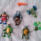 Lot 1988 Mirage Studios Playmates Toys Teenage Mutant Ninja Turtles TMNT parts