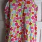 Hanna Andersson Polka Dot Ruffled Summer Jersey Knit Dress Girls sz 160 16 - 18