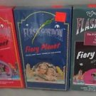 """NOS Lot 3 Flash Gordon Fiery Planet VHS NEW SEALED Volumes II III IV """"Buster"""""""