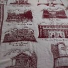 The Rug Barn Tallapoosa County Alabama Picturesque Throw Fringed 100% Cotton USA