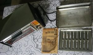 Vintage 1976 GE Toaster Oven General Electric Toast-R-Oven Broil T26/3126 Chrome