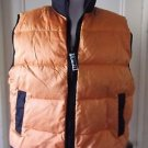 Vintage BTL Equipment Nylon Down Puffer Winter Ski Snow Zip Up Vest Mens M