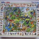 NEW Birds of the Backyard White Mountain Puzzle 1000 pieces USA 267S Educational