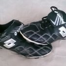 LOTTO non-marking softball/baseball Soccer Mens cleats size 7 black