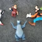 Disney Characters plastic figures figurines cake toppers Goofy Baloo