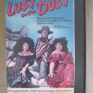 Lust in the dust VHS Cassette Tape Hard Plastic Clamshell Case Western Comedy