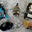 Lot of 3 Kung Zhu Zhu Pets 2 Armored Vehicles Raccoon Clothes Azer Ninja Warrior