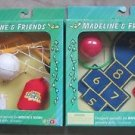 New Lot 2 Madeline & Friends Accessories Soccer + Hopscotch Playground Sets Eden