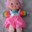 "Rainbow Bright BABY BRITE large 15"" doll vintage 1983 Hallmark tickled pink hair"