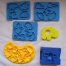 Vintage Play Doh Sesame Street ABC Company Parts Pieces 1973 Kenner Elephant 241