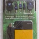NEW Datexx USB Instant Power Phone Kit Back-up Charger Mobile BT-USB-AA